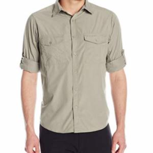 Craghoppers Kiwi - Camisa para hombre, color negro