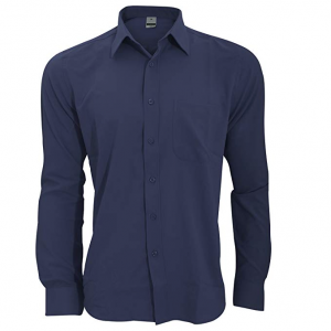 Camisa Transpirable para Trabajar de Manga Larga accion Anti-Bacterial Hombre/Caballero - Trabajo/Fiesta/Verano