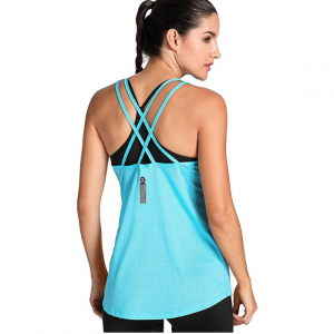 Camiseta Deportiva de Tirantes Prendas Deportivas Para Mujer