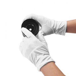 Guantes de microfibra antihuellas para meea, lentes, otros óptica