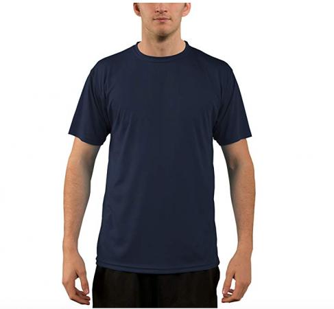 Camiseta de Manga Corta con Protección Solar contra Rayos UV - para Hombre - Factor 50+