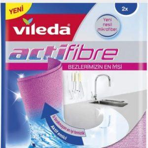 Vileda - Bayeta Actifibre - [1 paquete con 2 unidades]
