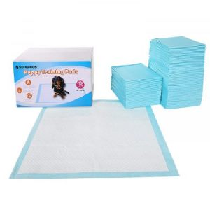 100 Unidades Empapadores Toallitas Pañales Almohadillas de Entrenamiento para Mascotas Absorbente 60 x 60 cm
