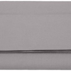 Sábana encimera, microfibra, Gris Oscuro, 280 x 320 + 10 cm